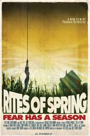 """Rites of Spring"" (2011) - Filmplakat, Filmcover"