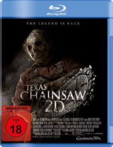 Texas Chainsaw Massacre 3D Blu-ray