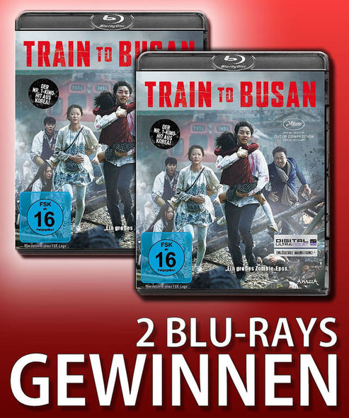 Verlosung: TRAIN TO BUSAN