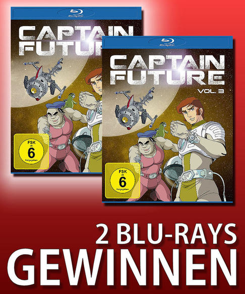 Verlosung: Capain Future Vol. 3