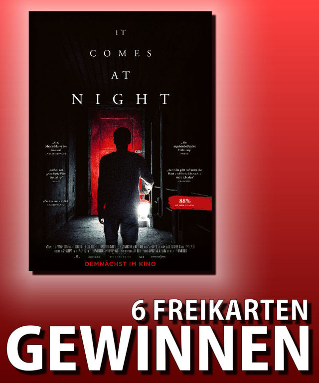 Verlosung: It Comes at Night