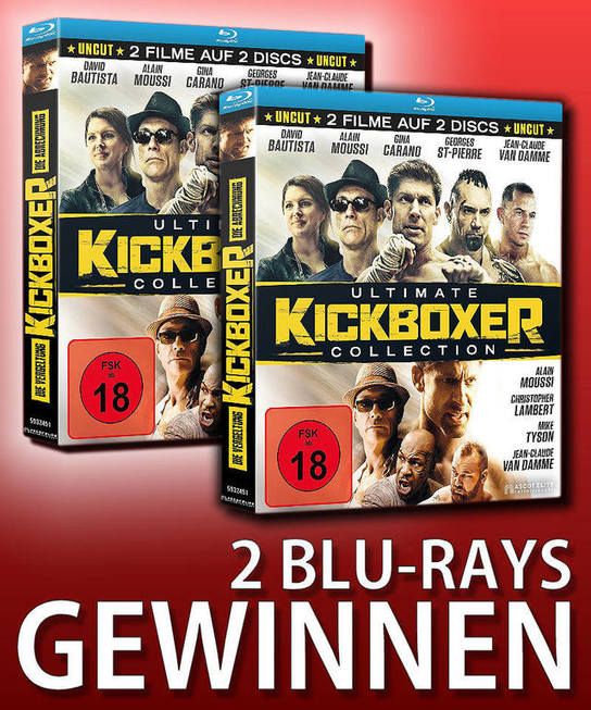 Verlosung: KICKBOXER – ULTIMATE COLLECTION