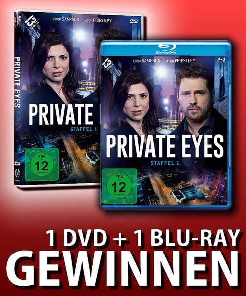 Verlosung: Private Eyes Staffel 1