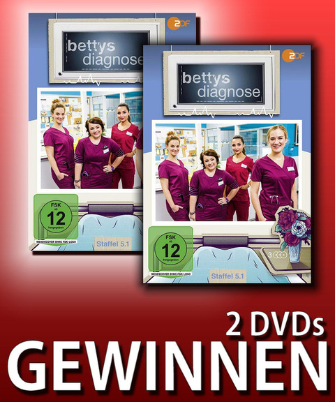 Verlosung: BETTYS DIAGNOSE – STAFFEL 5.1