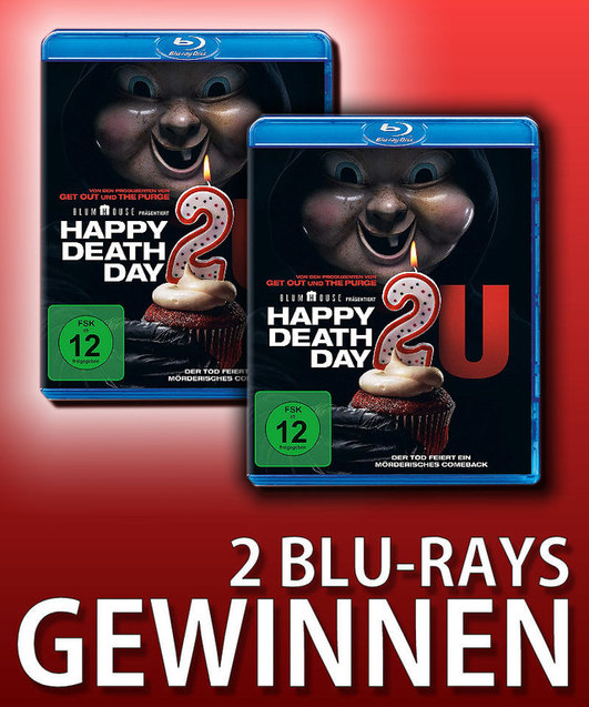 Verlosung: HAPPY DEATHDAY 2U
