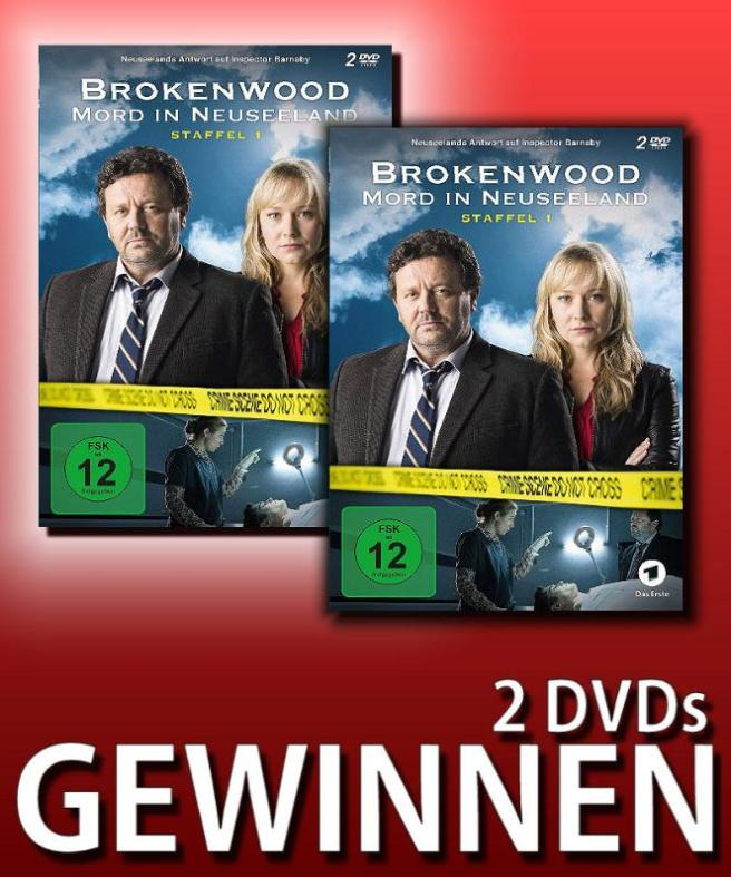 Verlosung: BROKENWOOD – MORD IN NEUSEELAND – STAFFEL 1