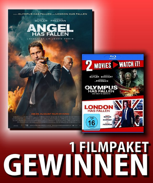 Verlosung: ANGEL HAS FALLEN