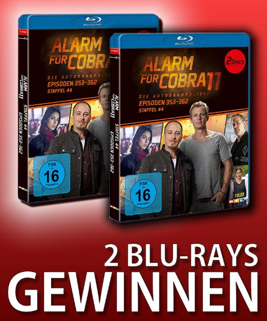 Verlosung: ALARM FÜR COBRA 11 – STAFFEL 44
