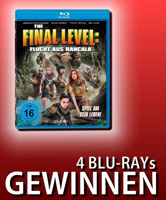 Verlosung: THE FINAL LEVEL – FLUCHT AUS RANCALA