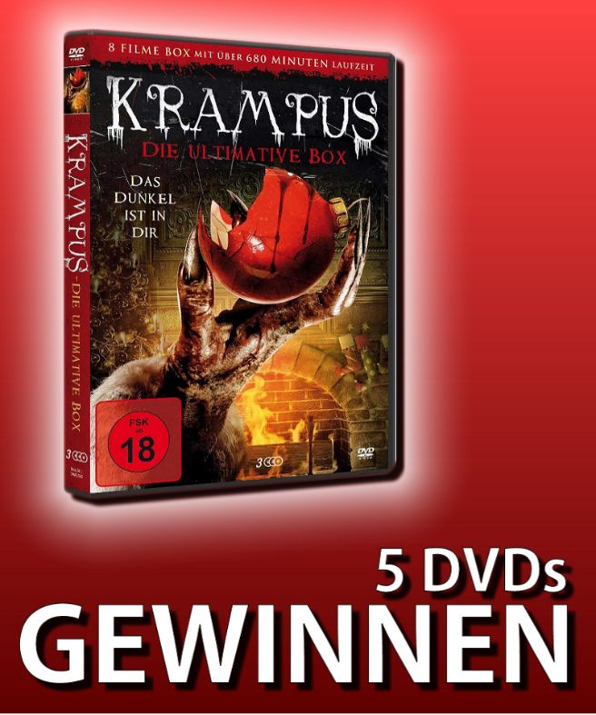Verlosung: KRAMPUS – DIE ULTIMATIVE BOX